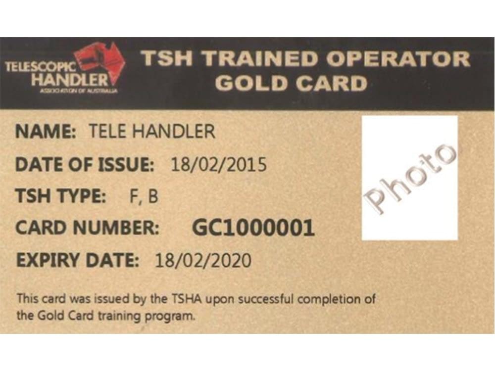 TSH Trained operator