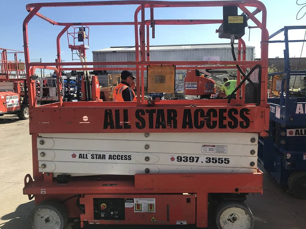 All Star Access Hire Image