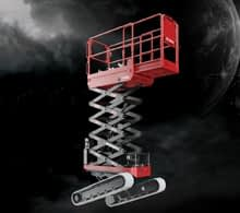 Athena Track Mounted Scissor Lifts