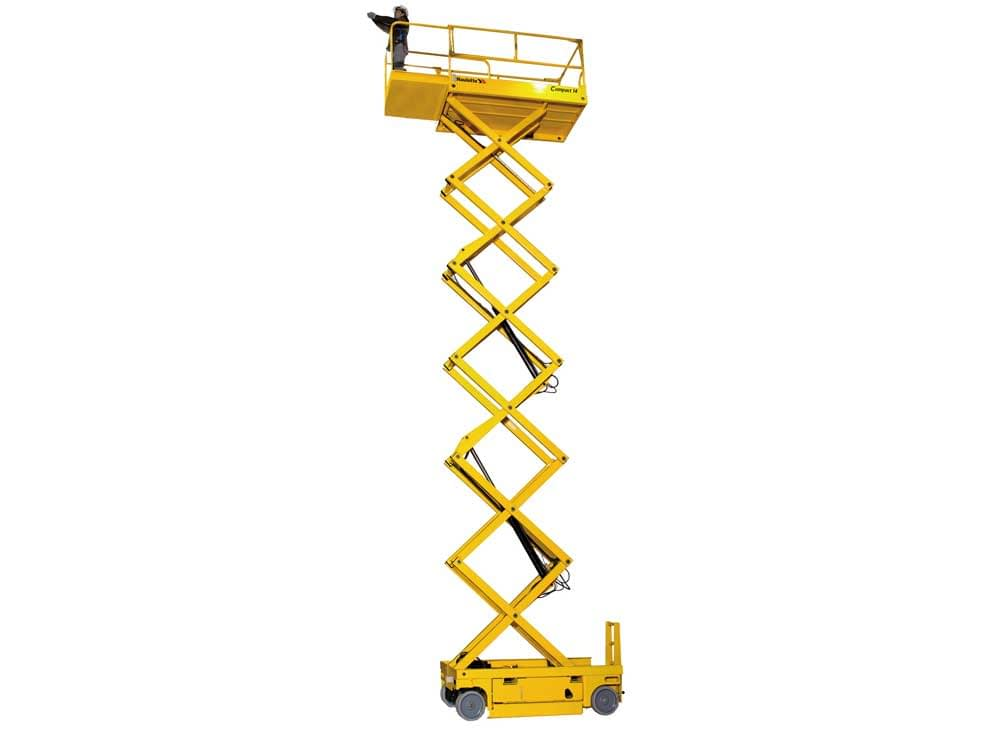 Compact 14' fork lift