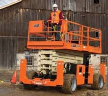 69' Electric Scissor Lift