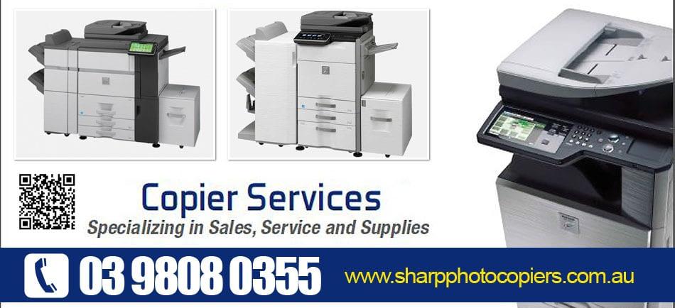 Sharp Photo Copiers Melbourne 03 9808 0355