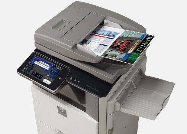sharp photocopier repair